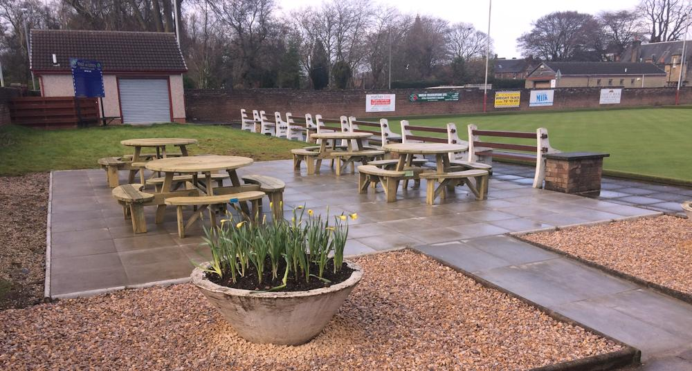 Bowling Club Patio