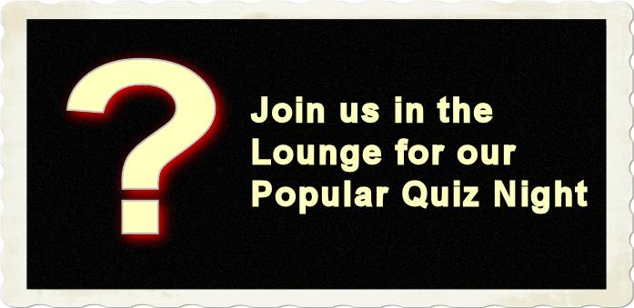 Boqling club Quiz Night